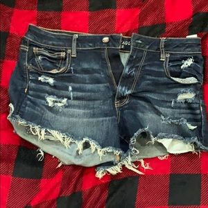 Hi rose festival American eagle shorts